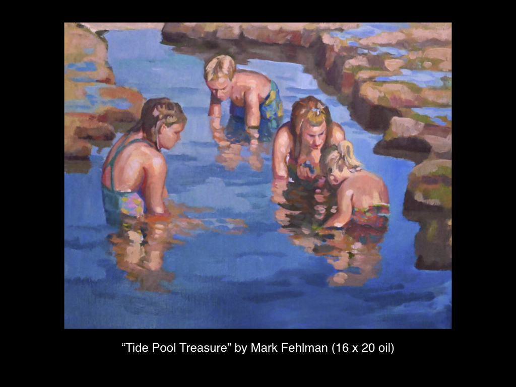 Tide Pool Treasure by Mark Fehlman