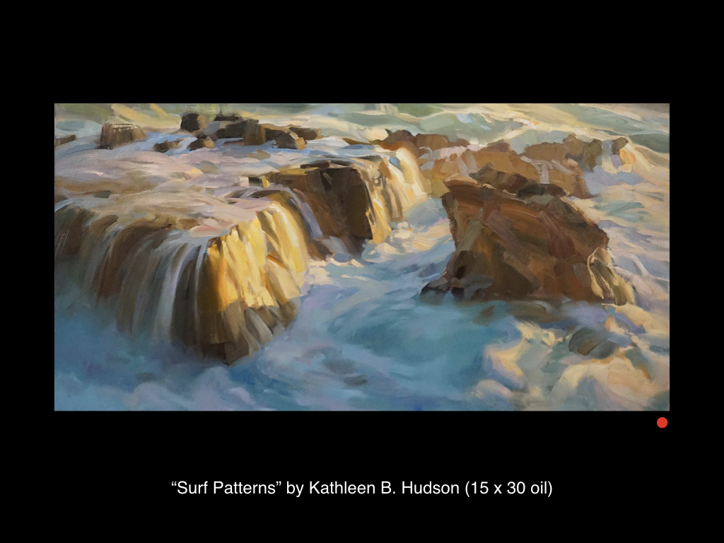 Surf Patterns by Kathleen B. Hudson