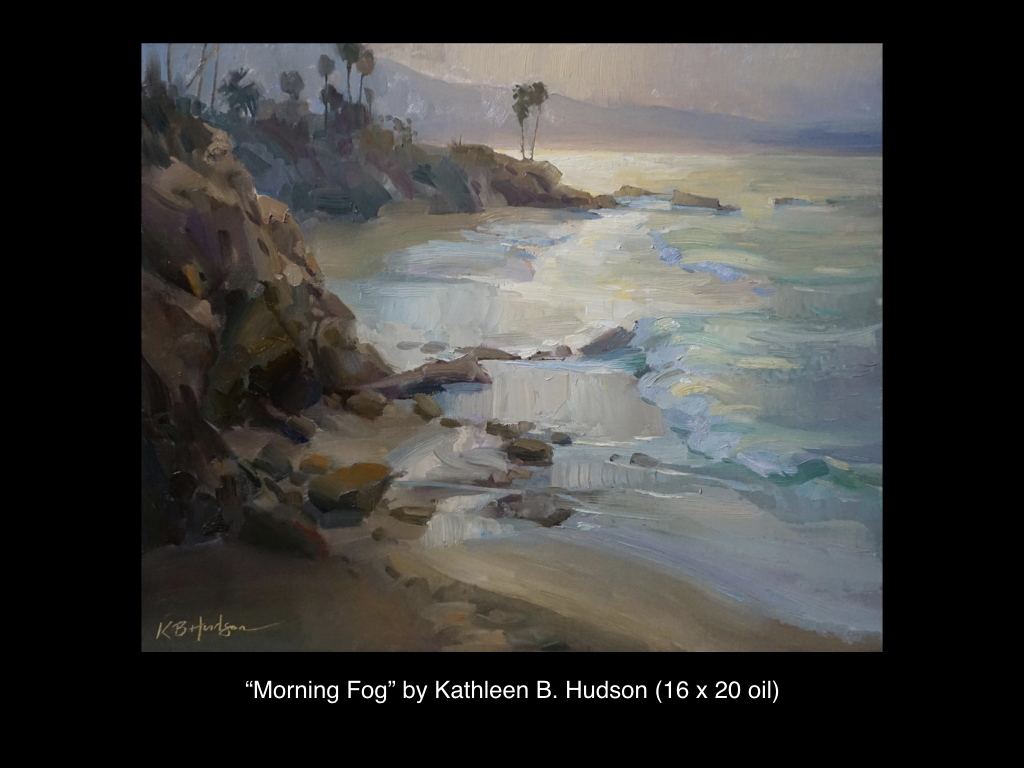 Morning Fog by Kathleen B. Hudson