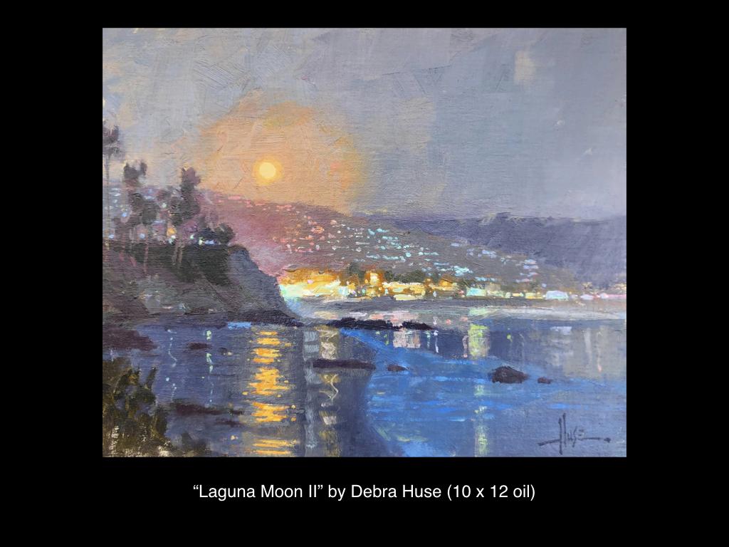 Laguna Moon II by Debra Huse