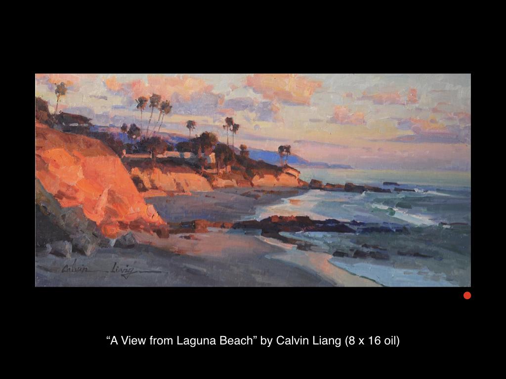 A View from Laguna Beach by Calvin Liang