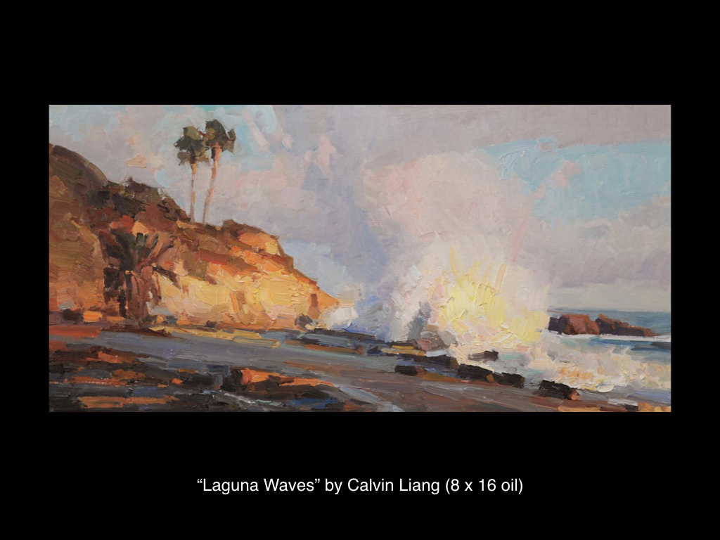 Laguna Waves by Calvin Liang