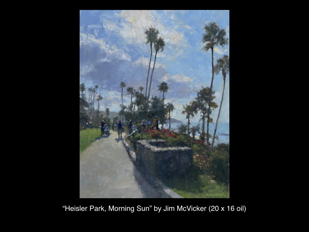 Heisler Park, Morning Sun by Jim McVicker