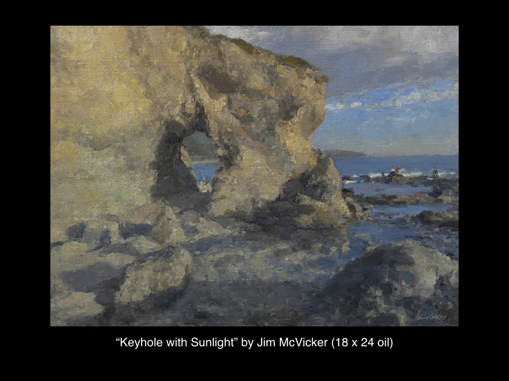Keyhole with Sunlight by Jim McVicker