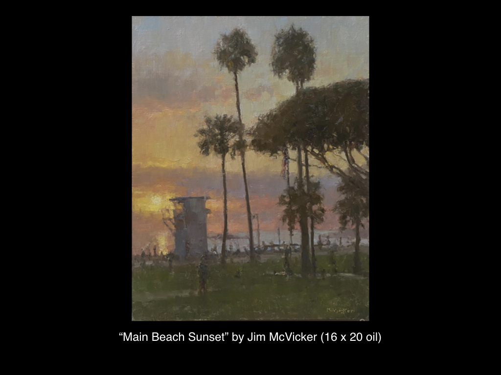 Main Beach Sunset by Jim McVicker
