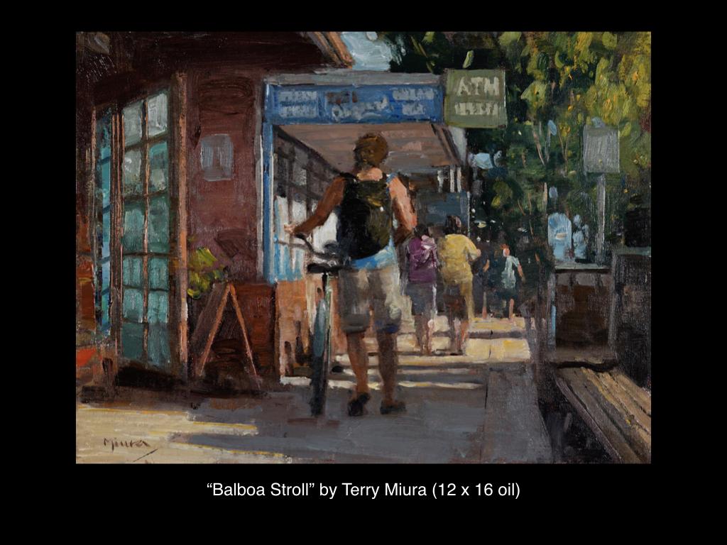 Balboa Stroll by Terry Miura