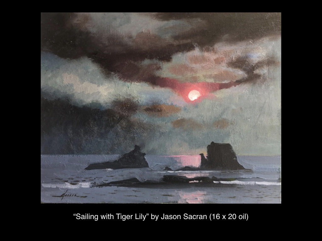 Sailing with Tiger Lily by Jason Sacran