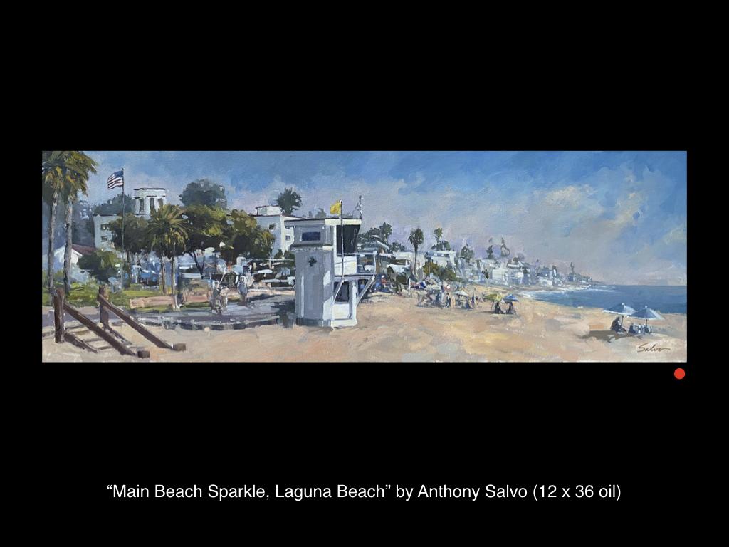 Main Beach Sparkle, Laguna Beach by Anthony Salvo
