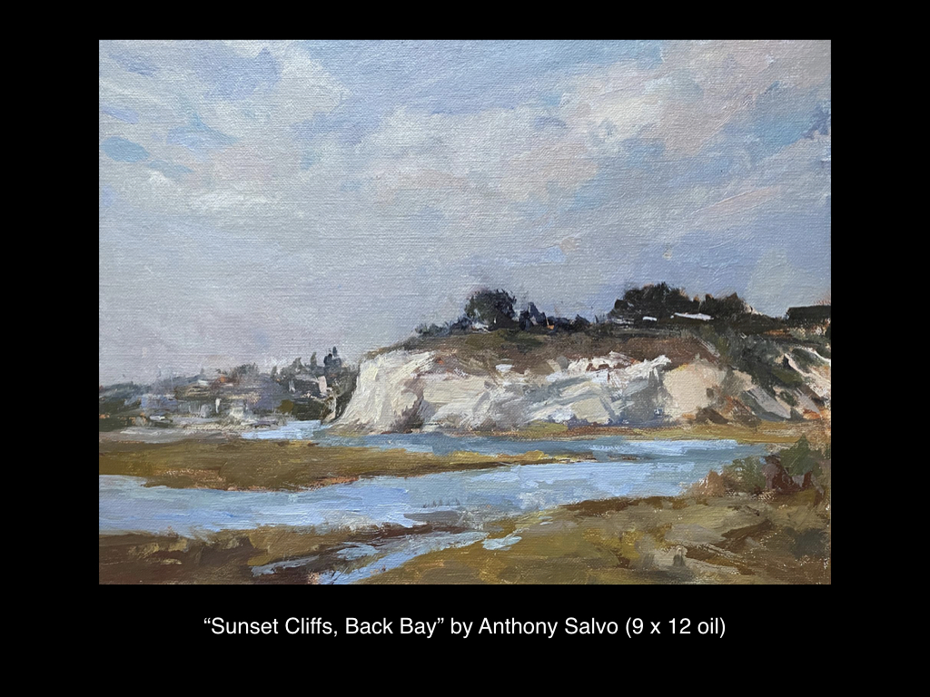 Sunset Cliffs, Back Bay by Anthony Salvo