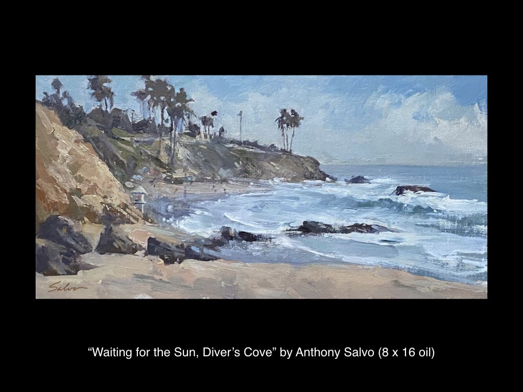 Waiting for the Sun, Diver's Cove by Anthony Salvo