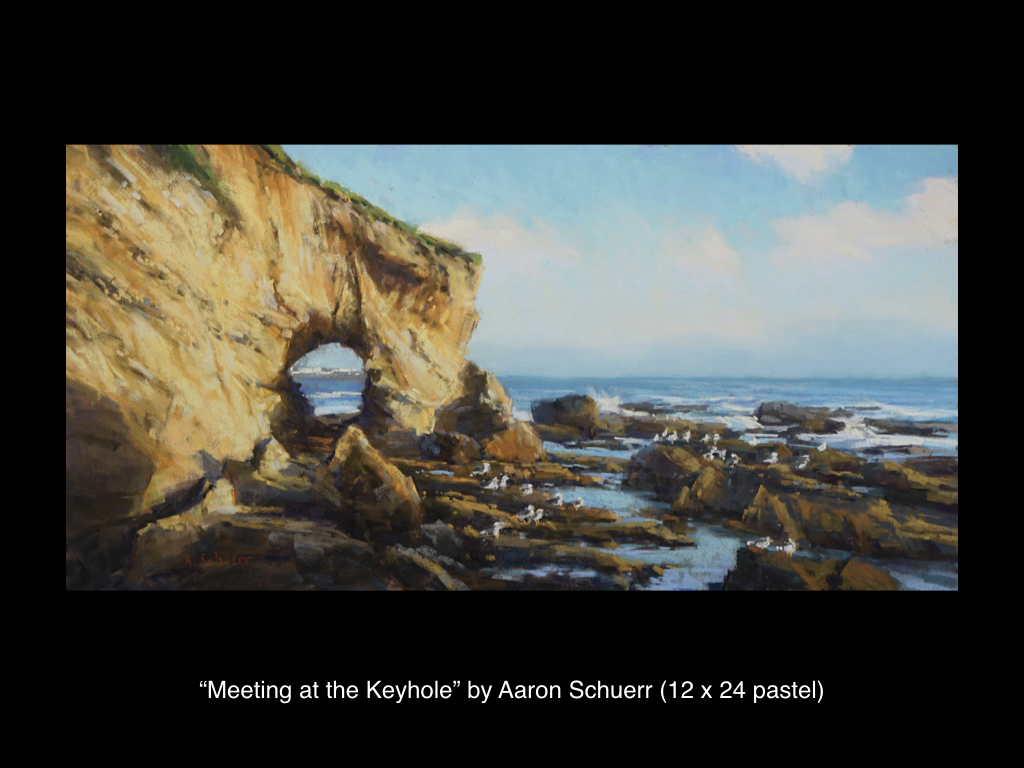 Meeting at the Keyhole by Aaron Schuerr