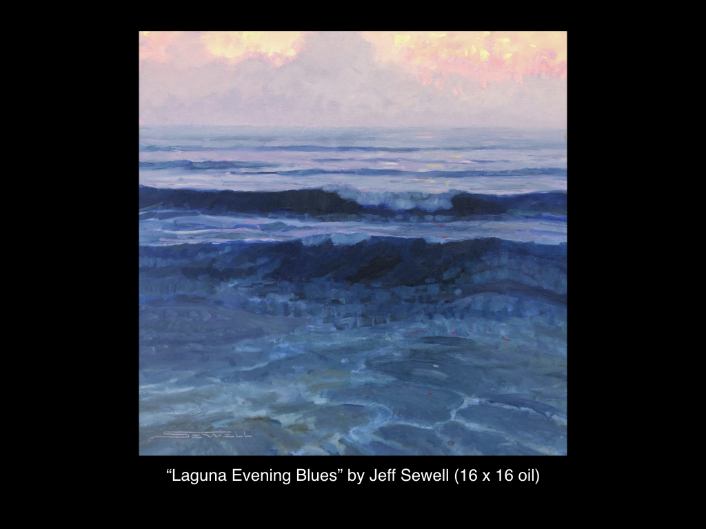 Laguna Evening Blues by Jeff Sewell