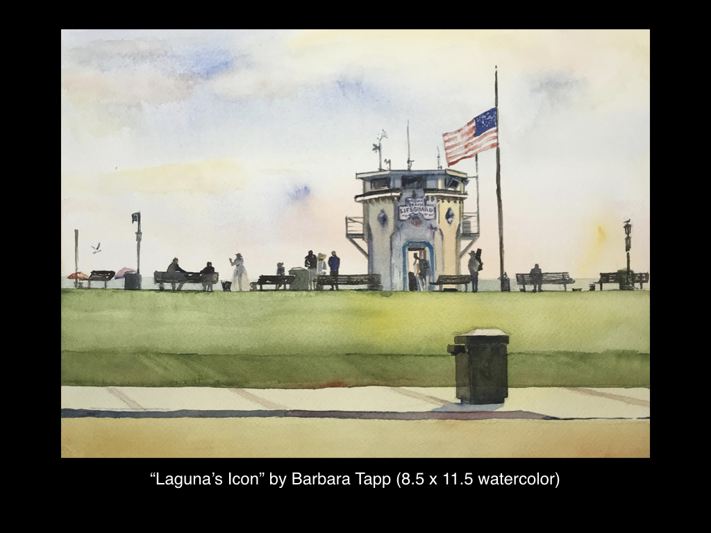 Laguna's Icon by Barbara Tapp