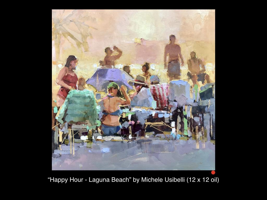 Happy Hour, Laguna Beach by Michele Usibelli