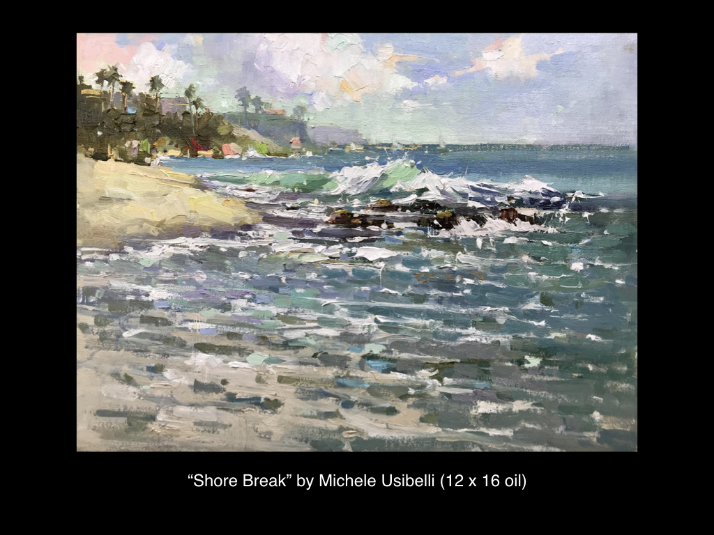 Shore Break by Michele Usibelli