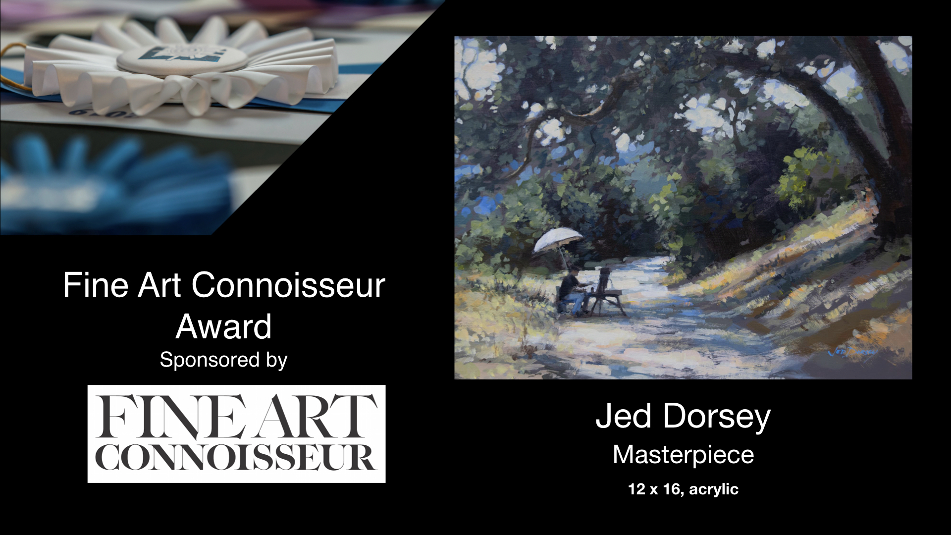 2020 Laguna Invitational Fine Art Connoisseur Award