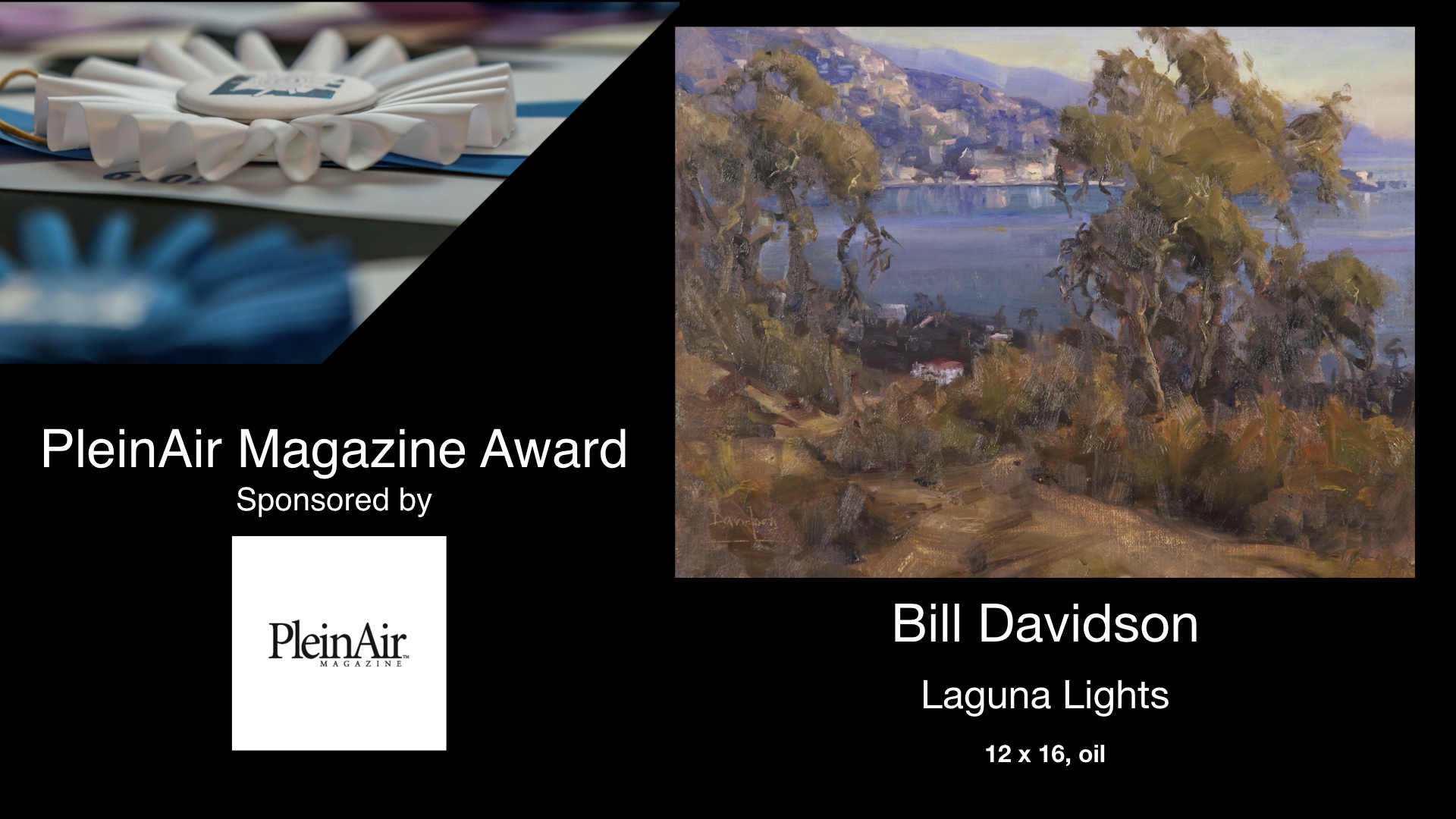2020 PleinAir Magazine Award