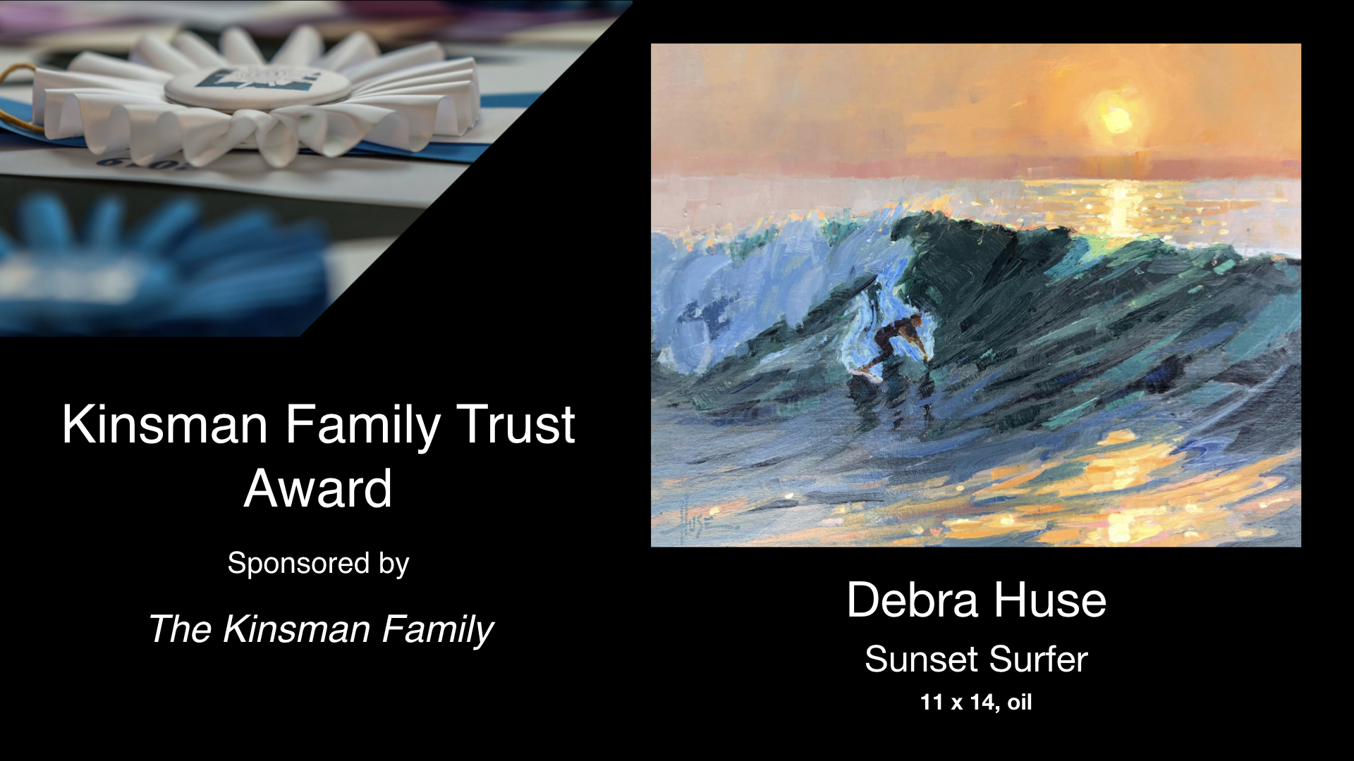 2020 Laguna Invitational Kinsman Family Trust Award