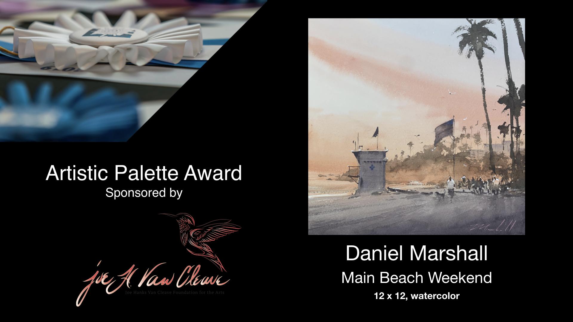 2020 Laguna Invitational Artistic Palette Award
