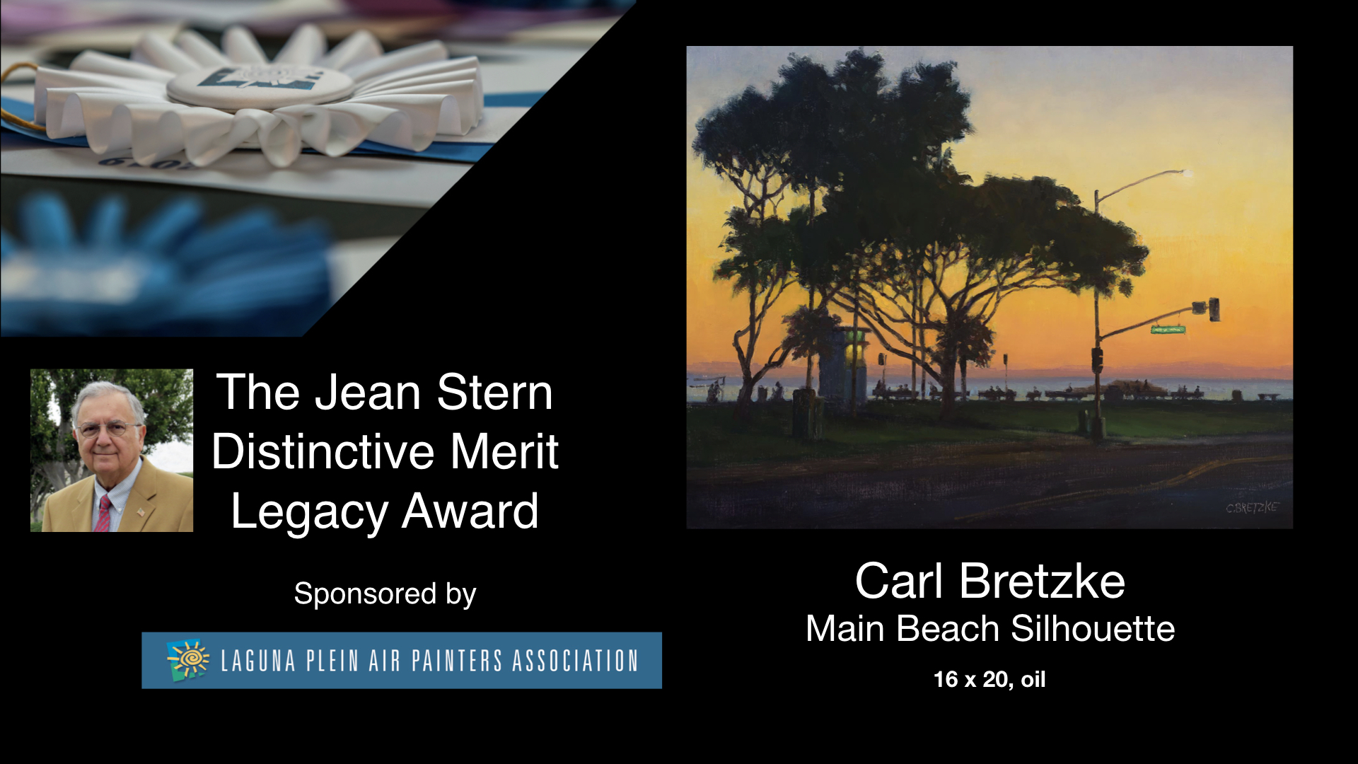 2020 Laguna Invitational Jean Stern Distinctive Merit Legacy Award