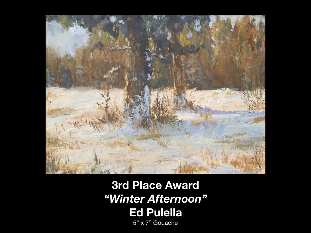 Ed Pulella - 3rd Place