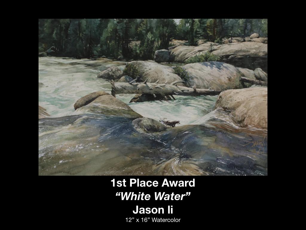 Jason Li - White Water - 1st Place