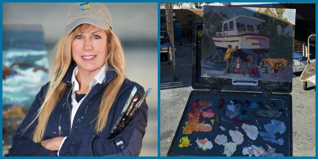 Debra Huse Virtual Paint Out