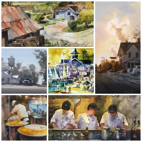 LPAPA Waterworks Juried Watercolor Art Show