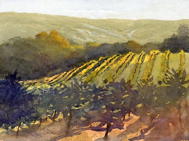 "Huse Skelly Gallery Honorable Mention Award:  LPAPA Signature Member Larry Cannon for ""By Dawns Early Light"""