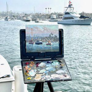 Debra Huse Plein Air Painting Video Recording