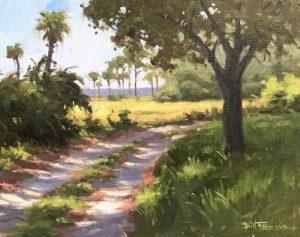 Bill Farnsworth Dappled Light Painting Lesson