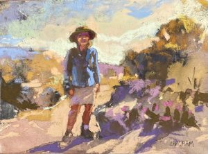 Margaret Larlham 2021 Postcard