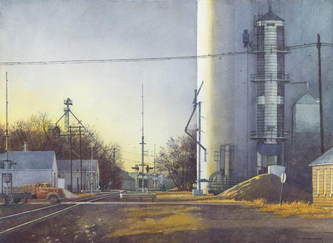 Best Building The Crossing II by Richard Sneary