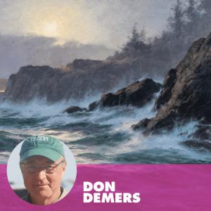 LPAPA Member Don Demers at PleinAir Live