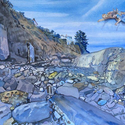 Linda Gunn's San Diego Watercolor Society Award