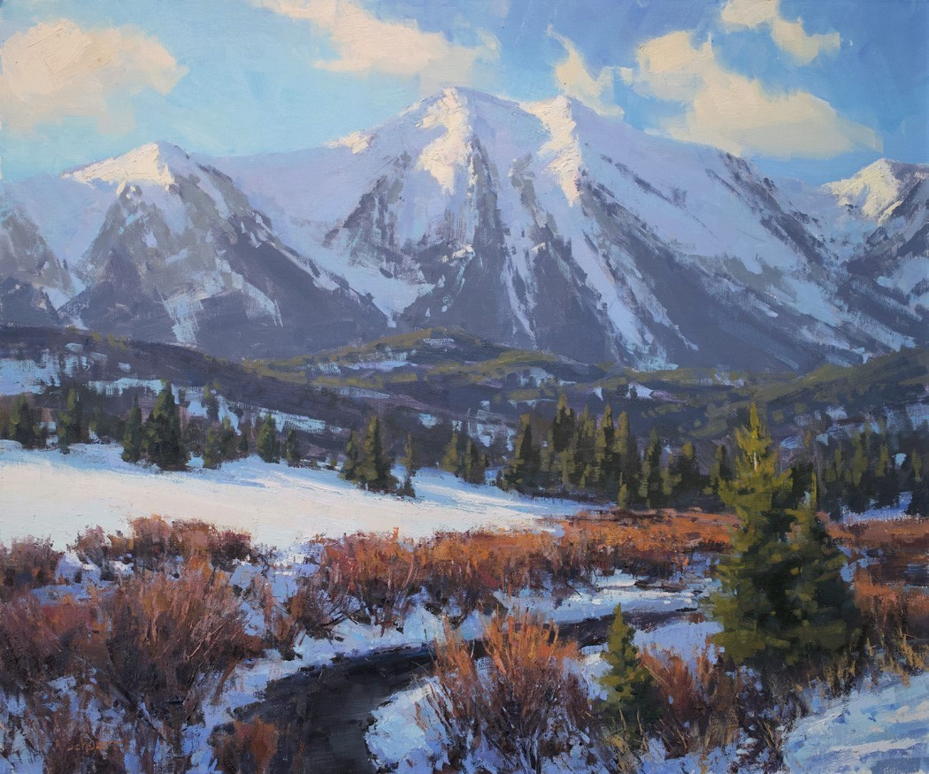 """3rd Place Overall """"Saddle Peak in December"""" by Aaron Schuerr"""