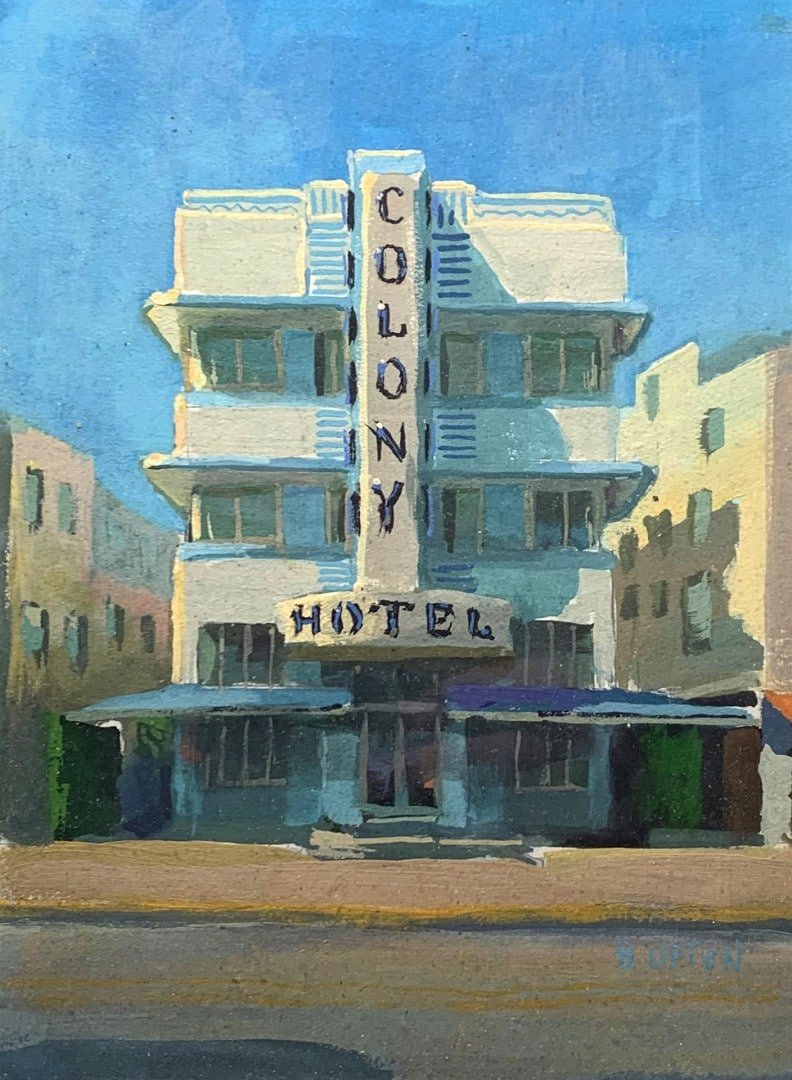 "Best Building ""Colony Hotel, South Beach"" by Bob Upton"