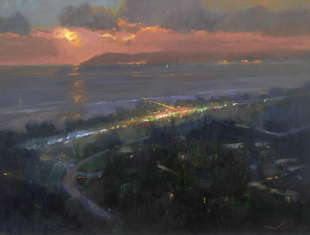 Laguna Plein Air Artist Rick J. Delanty