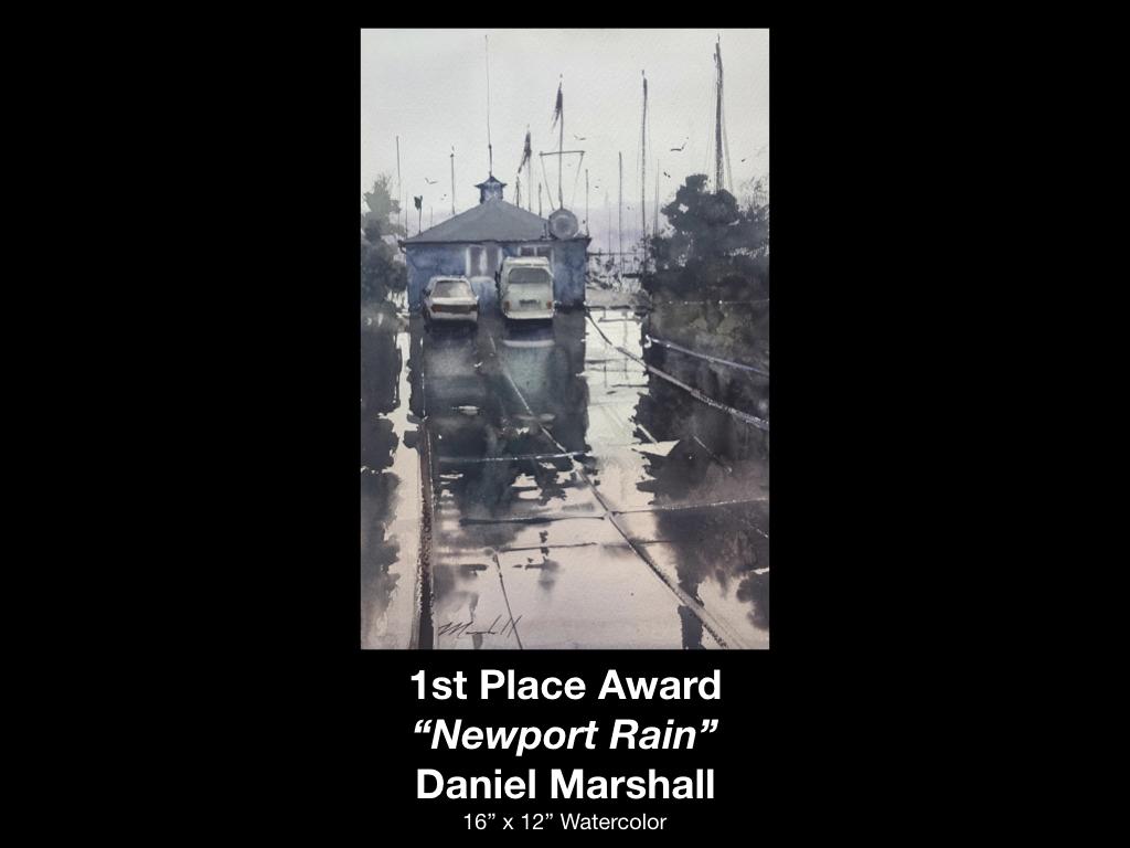 Waterworks Award Winner Daniel Marshall