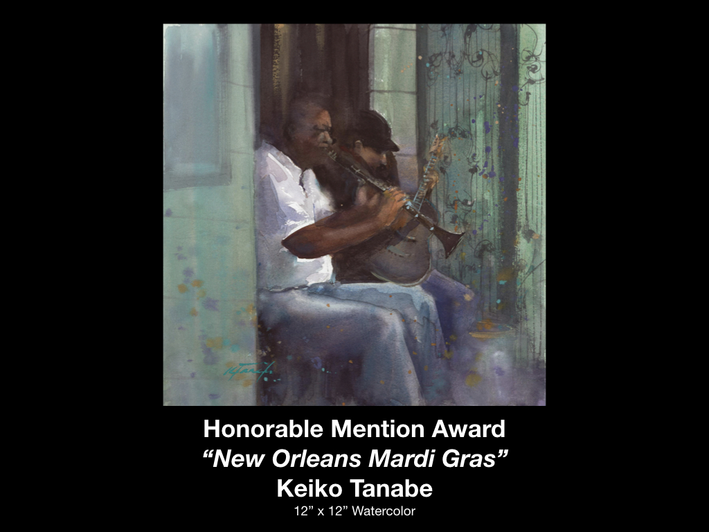 Waterworks Award Winner Keiko Tanabe