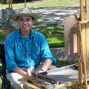 Calvin Liang: Demo & Paint Out, July 22nd