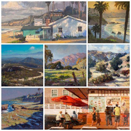 Laguna Plein Air Invitational Catalog Art Show