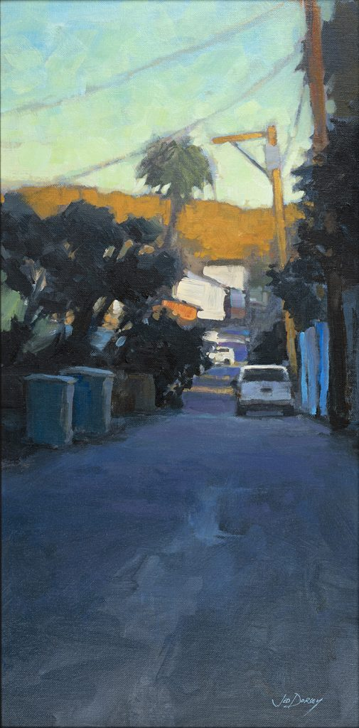 """2021 American Art Collector Award """"Unnamed Alley"""" by Jed Dorsey"""