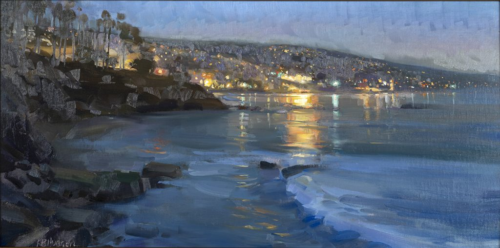 "2021 Greg LaRock Legacy Award ""Evening from Recreation Point"" by Kathleen B. Hudson"