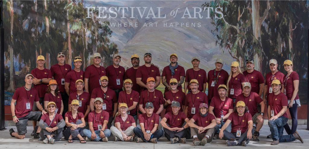 2021 Laguna Invitational Artists Group Photo