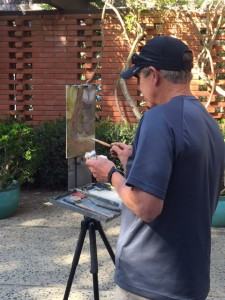 2015: Rick J Delanty at Hortense Miller Garden